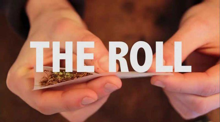 example of how to roll the Spliff