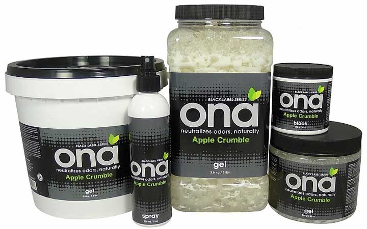 Ona neutralizes odor apple crumble